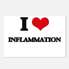 I Love Inflammation Postcards (Package of 8)