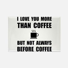 Not Before Coffee Magnets
