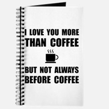 Not Before Coffee Journal