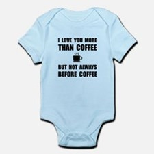 Not Before Coffee Body Suit