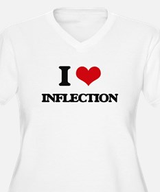 I Love Inflection Plus Size T-Shirt