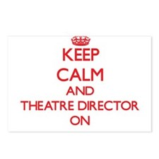Keep Calm and Theatre Dir Postcards (Package of 8)