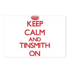 Keep Calm and Tinsmith ON Postcards (Package of 8)