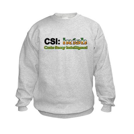 CSI: Irish Kids Sweatshirt