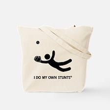 Baseball Catch Stunts Tote Bag