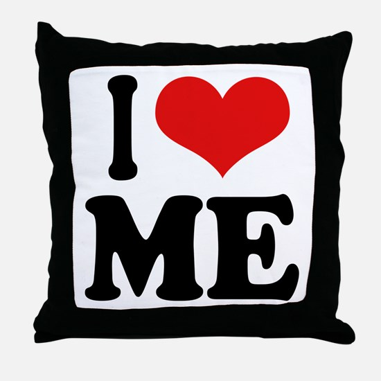 I Love Me Throw Pillow