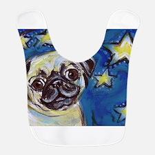 Pug Smile stars Bib