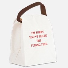 turing test Canvas Lunch Bag