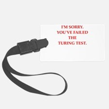 turing test Luggage Tag