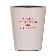 turing test Shot Glass