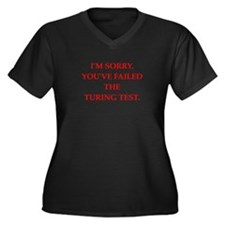 turing test Plus Size T-Shirt