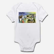 Greetings from Vermont Infant Bodysuit