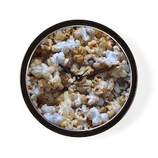 Kettle Corn Popcorn Wall Clock
