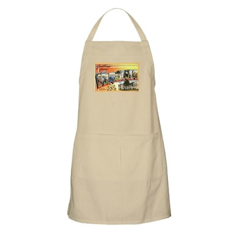 Greetings from Virginia BBQ Apron