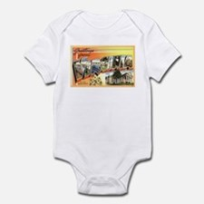 Greetings from Virginia Infant Bodysuit