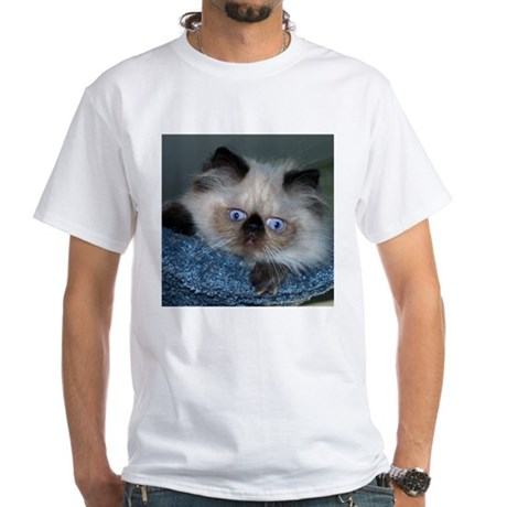 Blue-Eyed Himalayan Kitten T-Shirt