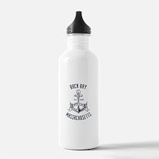 Back Bay, Boston MA Water Bottle