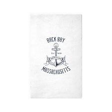 Back Bay, Boston MA Area Rug