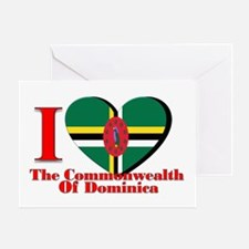I love Commonwealth D Greeting Card