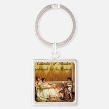 2015 Calendar of Readers Square Keychain
