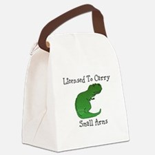 T-Rex - Licensed To Carry Small Arms Canvas Lunch