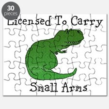 T-Rex - Licensed To Carry Small Arms Puzzle