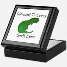 T-Rex - Licensed To Carry Small Arms Keepsake Box