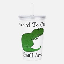 T-Rex - Licensed To Acrylic Double-Wall Tumbler