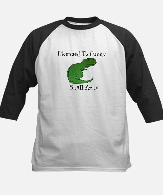 T-Rex - Licensed To Carry Small Arms Baseball Jers