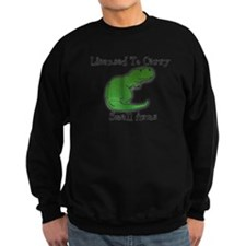 T-Rex - Licensed To Carry Small Arms Jumper Sweater