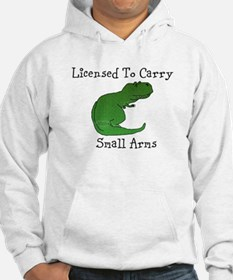 T-Rex - Licensed To Carry Small Arms Hoodie