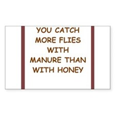 manure Decal