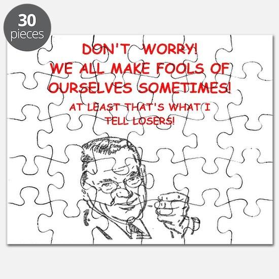 Cute Curling humor Puzzle