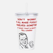 losers Acrylic Double-wall Tumbler
