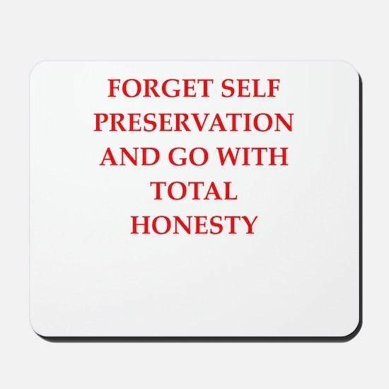 honesty Mousepad