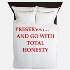 honesty Queen Duvet
