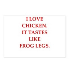 chicken Postcards (Package of 8)