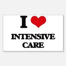 I Love Intensive Care Decal