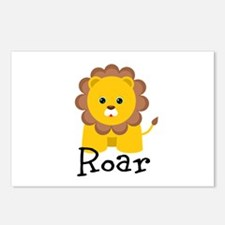 Roar Lion Postcards (Package of 8)
