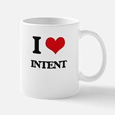I Love Intent Mugs