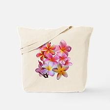 Pink Plumerias Tote Bag