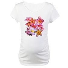 Pink Plumerias Shirt
