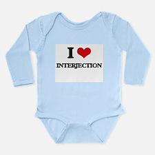 I Love Interjection Body Suit