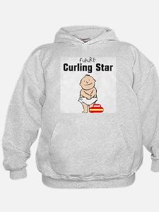 Future Curling Star Hoodie