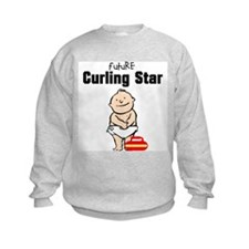 Future Curling Star Sweatshirt