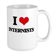 I Love Internists Mugs