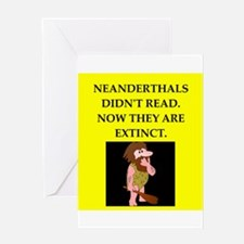 neanderthal Greeting Cards