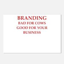 branding Postcards (Package of 8)