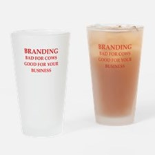 branding Drinking Glass