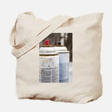 Spray Cans Tote Bag